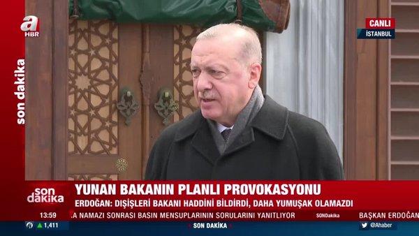 Cumhurbaşkanı Erdoğan'dan Cuma namazı sonrası önemli açıklamalar (16 Nisan 2021 Cuma)