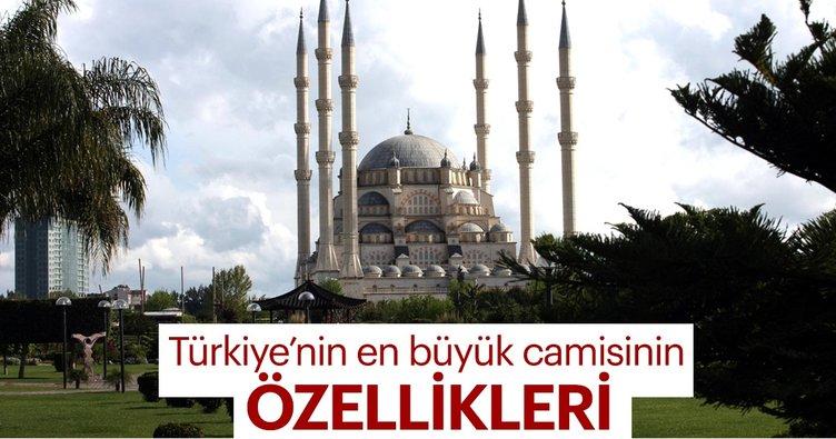 Türkiye'nin en büyük camisinin özellikleri