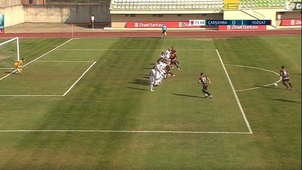 GOL | Çarşambaspor 0-1 Yozgatspor 1959