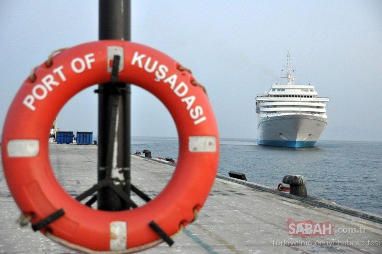 Ve son gemi limana yanaştı!