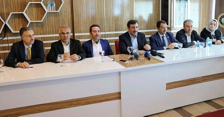 """AK Parti'li Yılmaz: """"2018 yılı ile ilgili güçlü hedeflerimiz var"""""""
