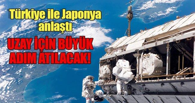 Japonya ile 'uzay' anlaşması