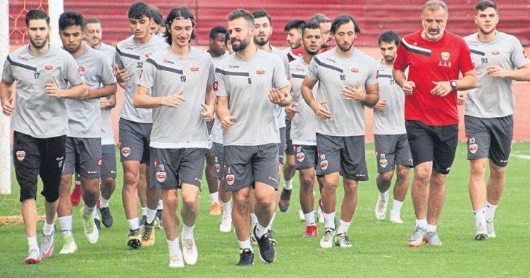 Adanaspor'da maç hazırlıkları sürüyor