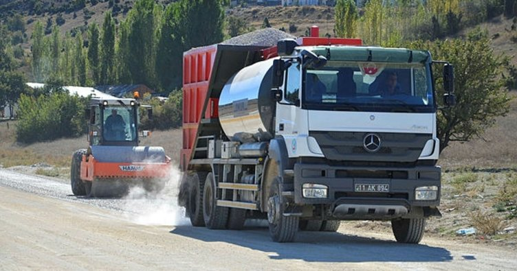 Yeşilkent ve Musapınarı arasındaki toz sorunu ortadan kalkıyor