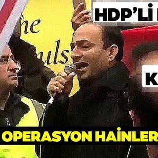 Terör destekçisi HDP'li Osman Baydemir'den Türkiye ve Başkan Erdoğan'a alçak hakaretler