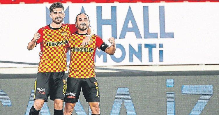 Göztepe'nin çıkış maçı