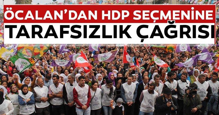 SON DAKİKA HABERİ: Teröristbaşı Öcalan'dan HDP'ye '23 Haziran' çağrısı!