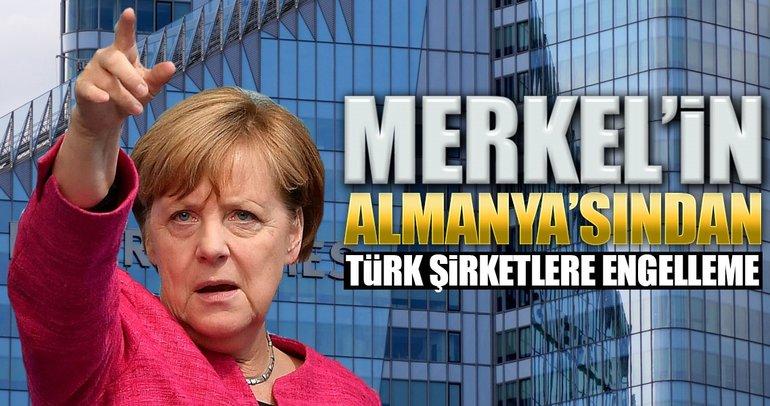 Almanya'dan Türk şirketlere engelleme