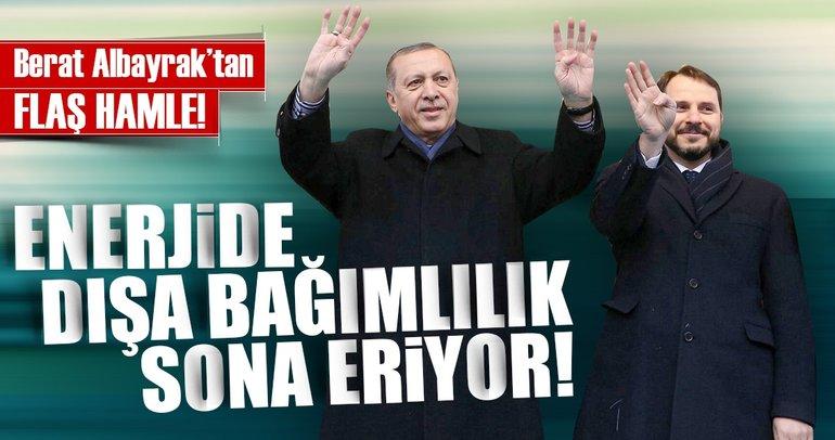 Berat Albayrak'tan Enerjide dışa bağımlılığa karşı milli enerji hamlesi!