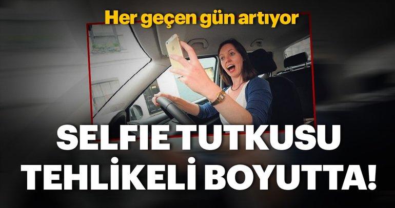 Selfie tutkusu tehlikeli boyutta