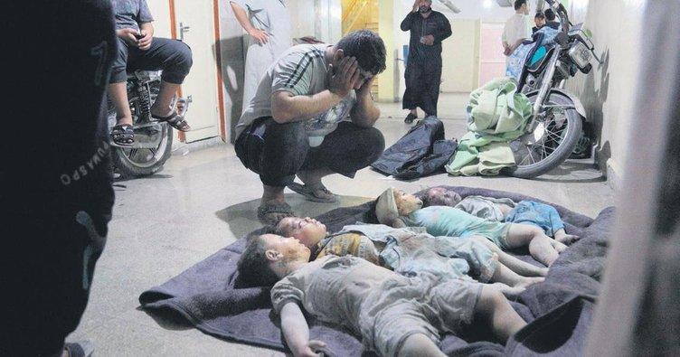 Esad yine saldırdı