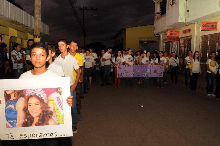 Honduras güzeli ölü bulundu