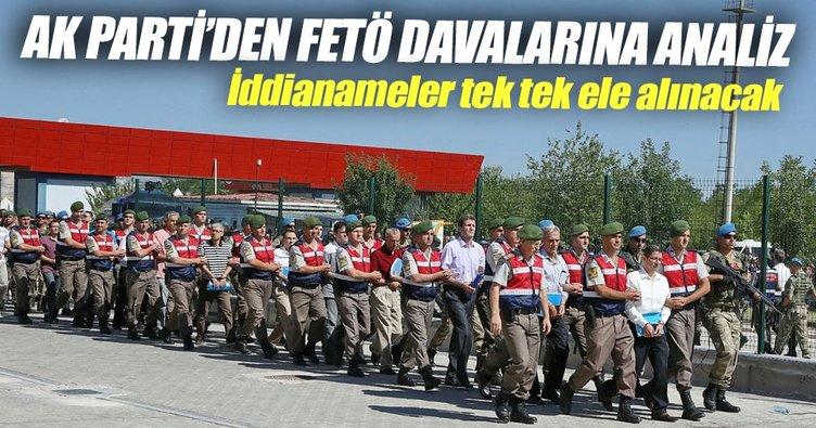 AK Parti'den FETÖ davalarına analiz
