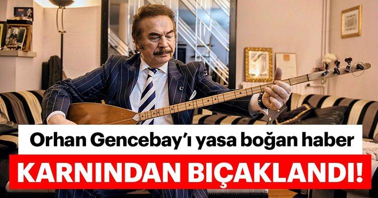 Son dakika haberi: Usta sanatçı Orhan Gencebay'ın oğlu Gökhan Gencebay bıçaklı saldırıya uğradı! Gökhan Gencebay...
