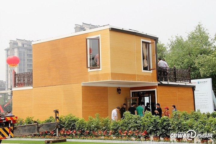Bu ev 3D Yazıcı ile yapıldı