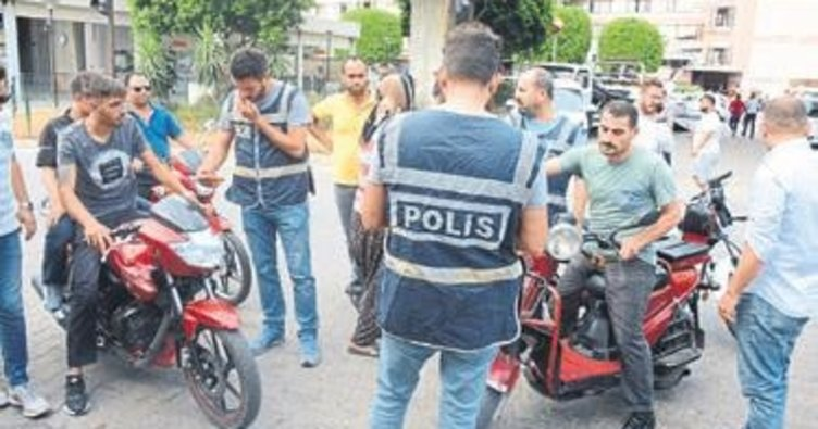 82 motosiklet ve elektrikli bisiklet trafikten men edildi