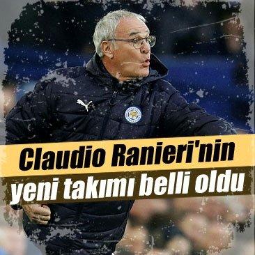 Claudio Ranieri'nin yeni takımı belli oldu