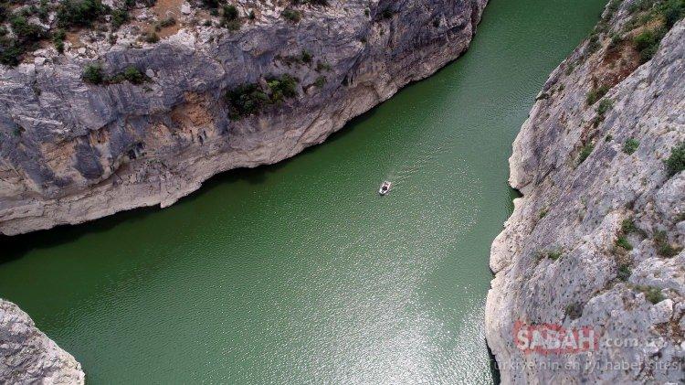Kaplancık Kanyonu ziyaretçilerini bekliyor