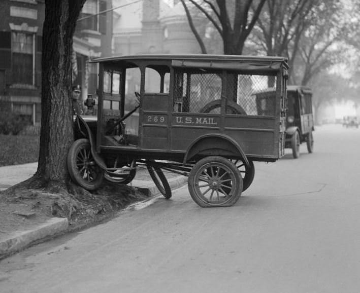 Tarihte görüntülenen ilk trafik kazaları