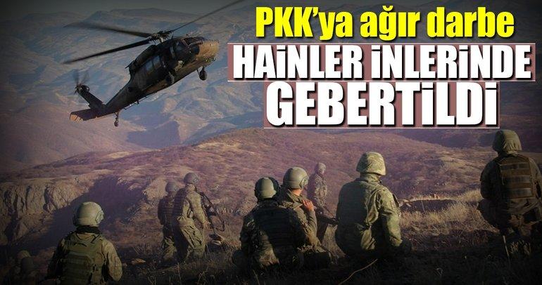 Şırnak'ta 26 PKK'lı terörist öldürüldü