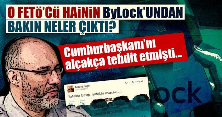 FETÖ'cü Opçin'in ByLock'undan Balyoz kumpası çıktı