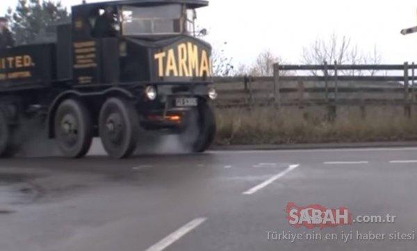 Kömürle çalışan kamyonu gördünüz mü?