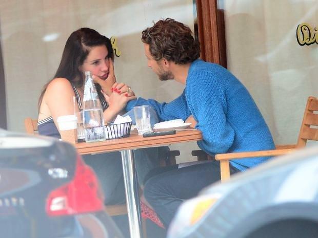Lana Del Rey'in romantik anları