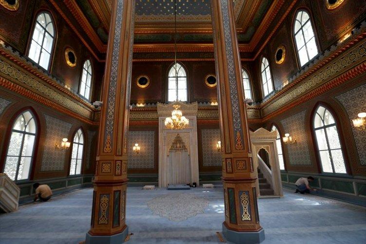 Yıldız Hamidiye Camisi ibadete açılıyor