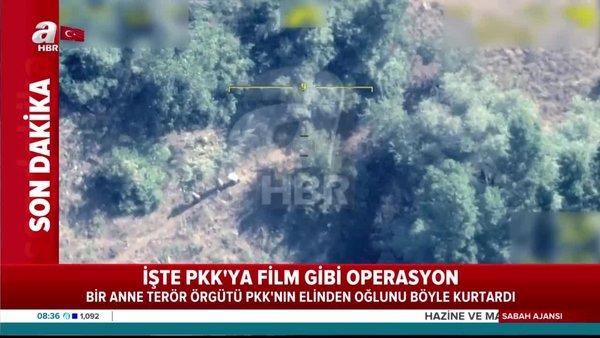 Son dakika haberi | Bitlis'te annenin oğlunu PKK'dan kurtardığı ormanlık alandaki o anlar kamerada | Video