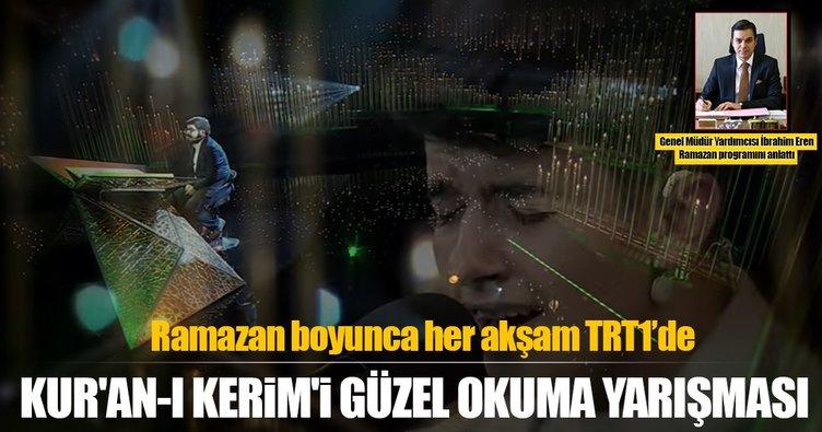 İbrahim Eren TRT'deki Kur'an-ı Kerim'i Güzel Okuma yarışmasını anlattı