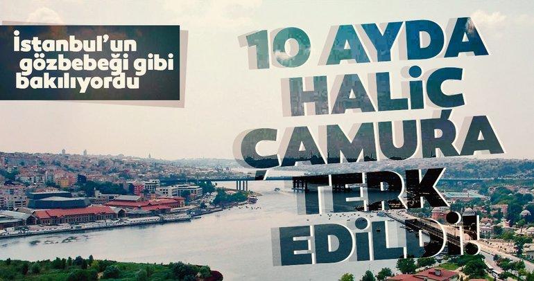 AK Parti İstanbul İl Başkanı Bayram Şenocak: 25 yıl İstanbul'un gözbebeği gibi bakılan Haliç 10 ayda çamura terk edildi