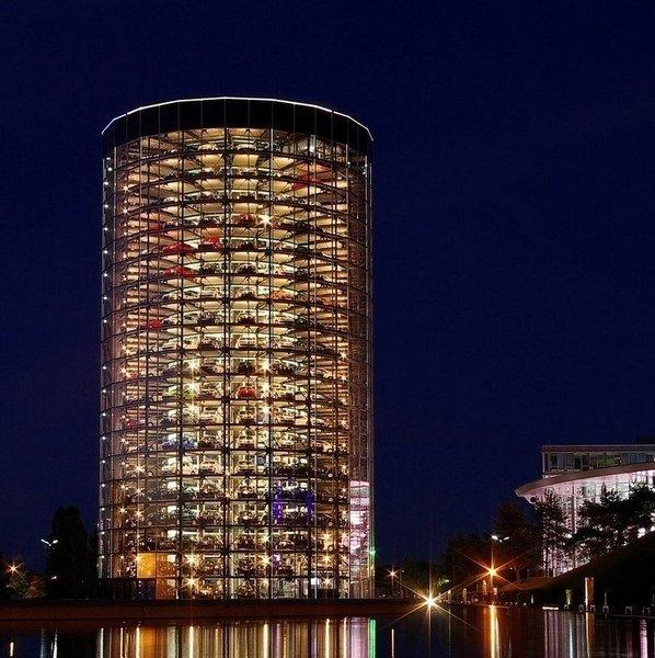 Volkswagen'in otomobil kulesi