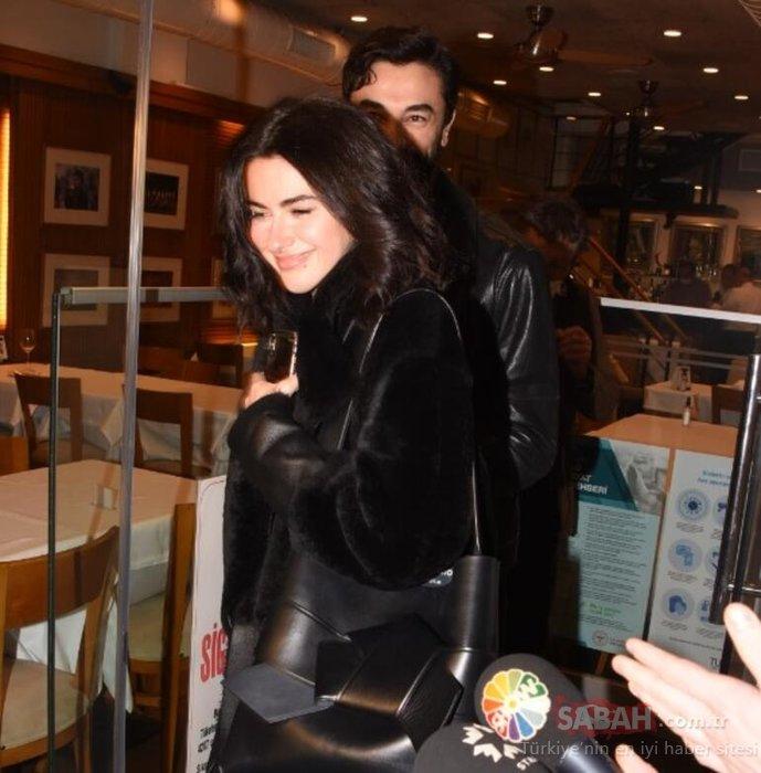 Güzel oyuncu Nesrin Cavadzade Gökhan Alkan'ı ailesiyle tanıştırdı! Aşkını sosyal medyadan ilan etmişti…