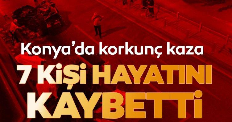Son dakika: Konya'da korkunç kaza! Çok sayıda ölü...