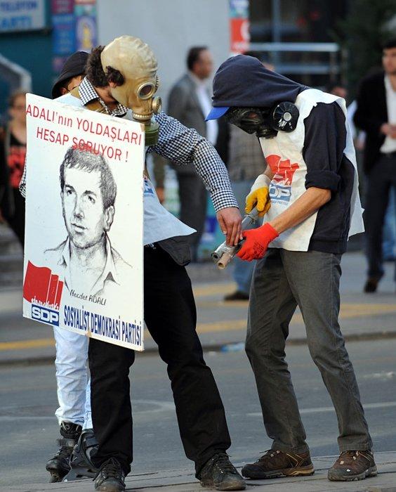 İşte masum(!) Soma protestocuları