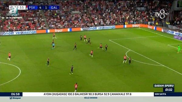 PSV 5 - 1 Galatasaray MAÇ ÖZETİ İZLE! Şampiyonlar Ligi PSV 5 - 1 Eindhoven Galatasaray maç özeti tüm goller izle