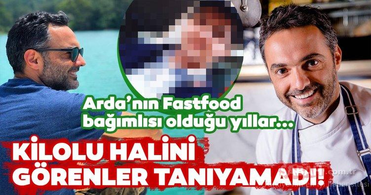 Ünlü şef Arda Türkmen'in kilolu halini görenler tanıyamadı! İşte Arda Türkmen'in kilolu olduğu gençlik halleri...