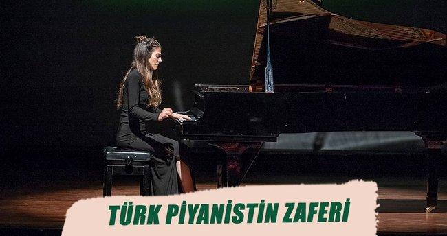 Türk piyanistin zaferi
