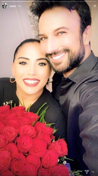 Tarkan'dan Pınar Tevetoğlu'na romantik evlilik yıl dönümü kutlaması!