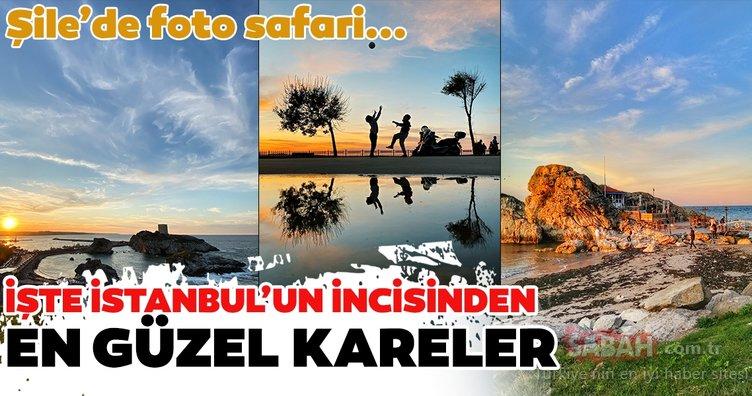 Şile'de foto safari! İşte İstanbul'un incisinden en güzel kareler...
