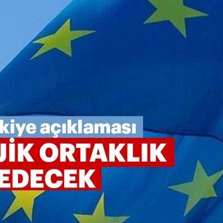 AB Komisyonu Başkanı Juncker: AB, Türkiye ile stratejik ortaklığını sürdürecek