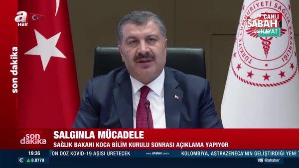 Son dakika: Sağlık Bakanı Fahrettin Koca'dan Kılıçdaroğlu'nun ücretsiz aşı iddiasına sert yanıt: Bunun akılla izahı var mı? | Video