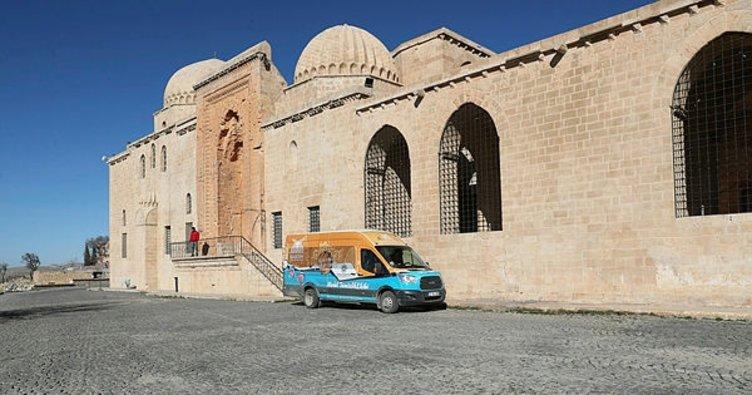 Mardin'de ibadethaneler temizleniyor