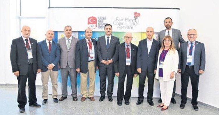 Keykubat Üniversitesi'nde Fair Play kervanı