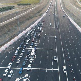 Otoyoldan 1.7 milyon araç geçti