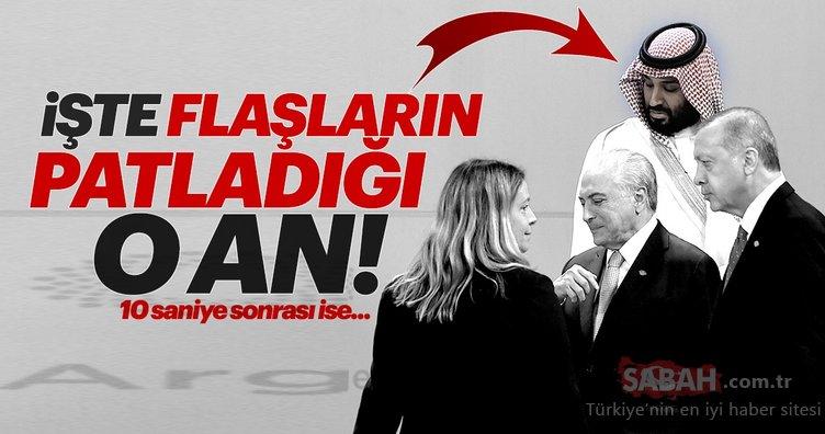 G20 Zirvesi'nde Prens Selman Başkan Erdoğan'ın yüzüne bakamadı!