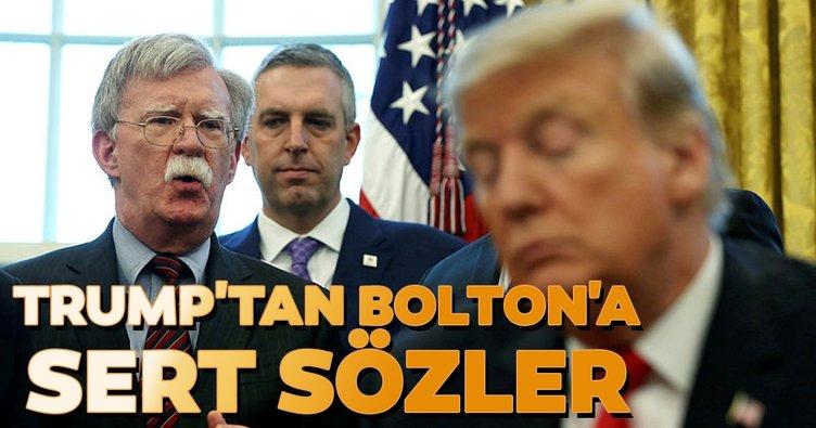 Trump'tan Bolton açıklaması: Beni engelliyordu...