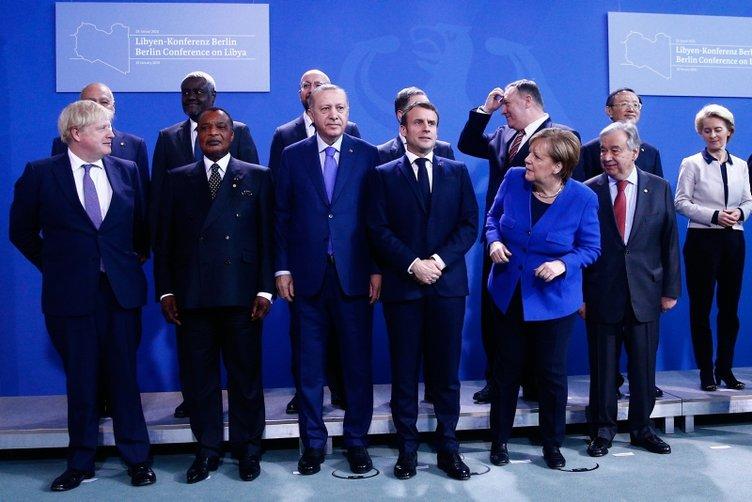 Berlin'deki kritik zirvede Başkan Erdoğan rüzgarı