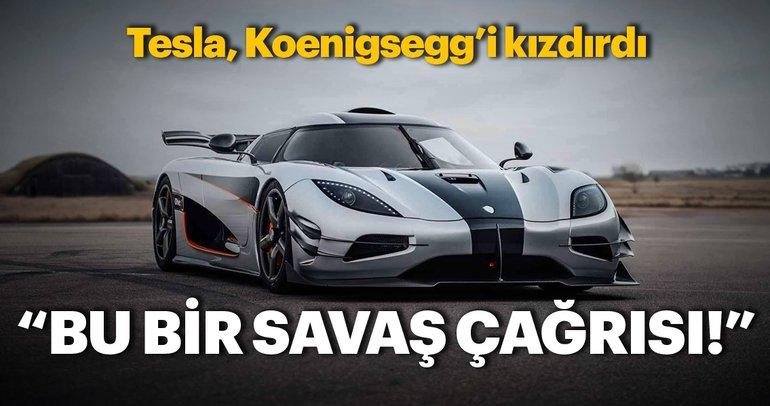 Koenigsegg: Bu bir savaş çağrısı!