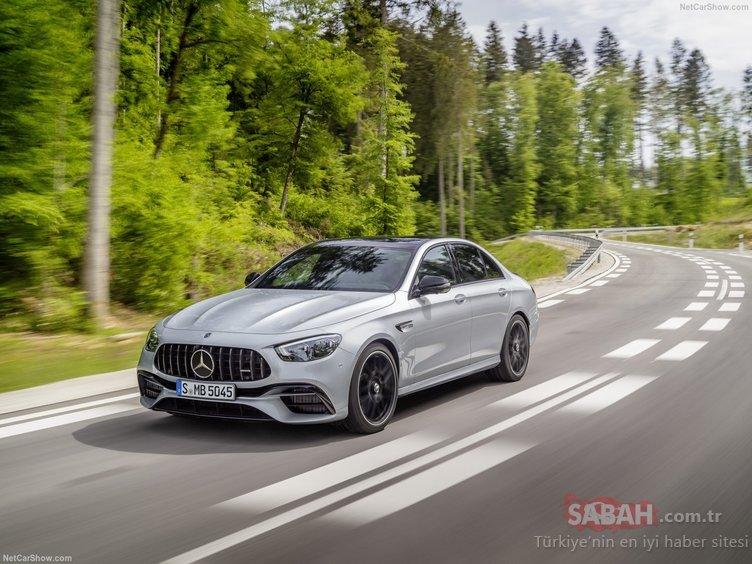 2021 Mercedes-Benz E63 AMG ve E63 AMG Wagon tanıtıldı! Mercedes'in BMW'ye cevabı gecikmedi